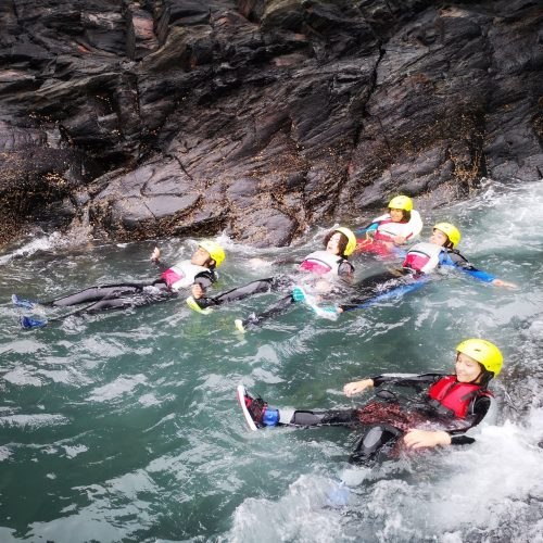 Gorge walking outdoor adventure experience