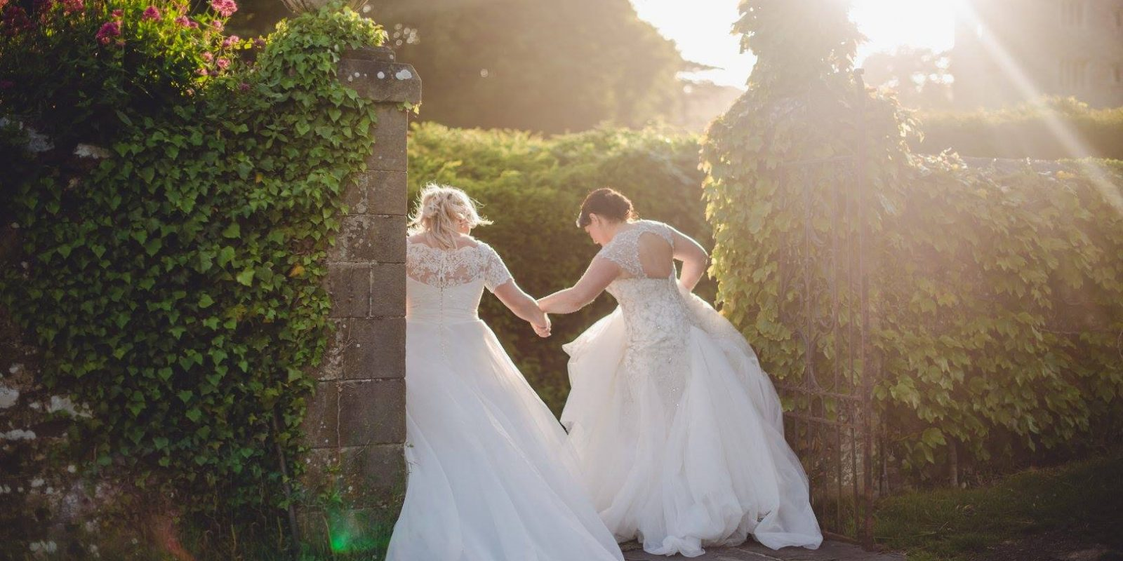 Same-sex wedding venue, St Donat's Castle