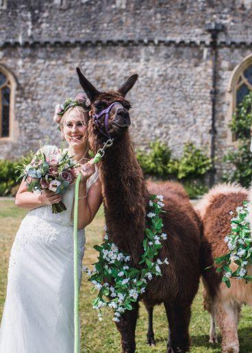 South Wales Wedding Venue St Donats Castle