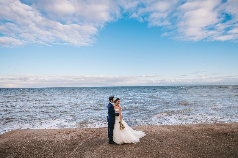beach wedding venue south wales