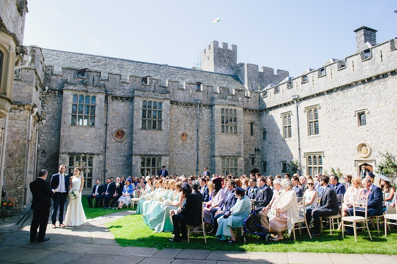 Wedding ceremony in the Inner Courtyard