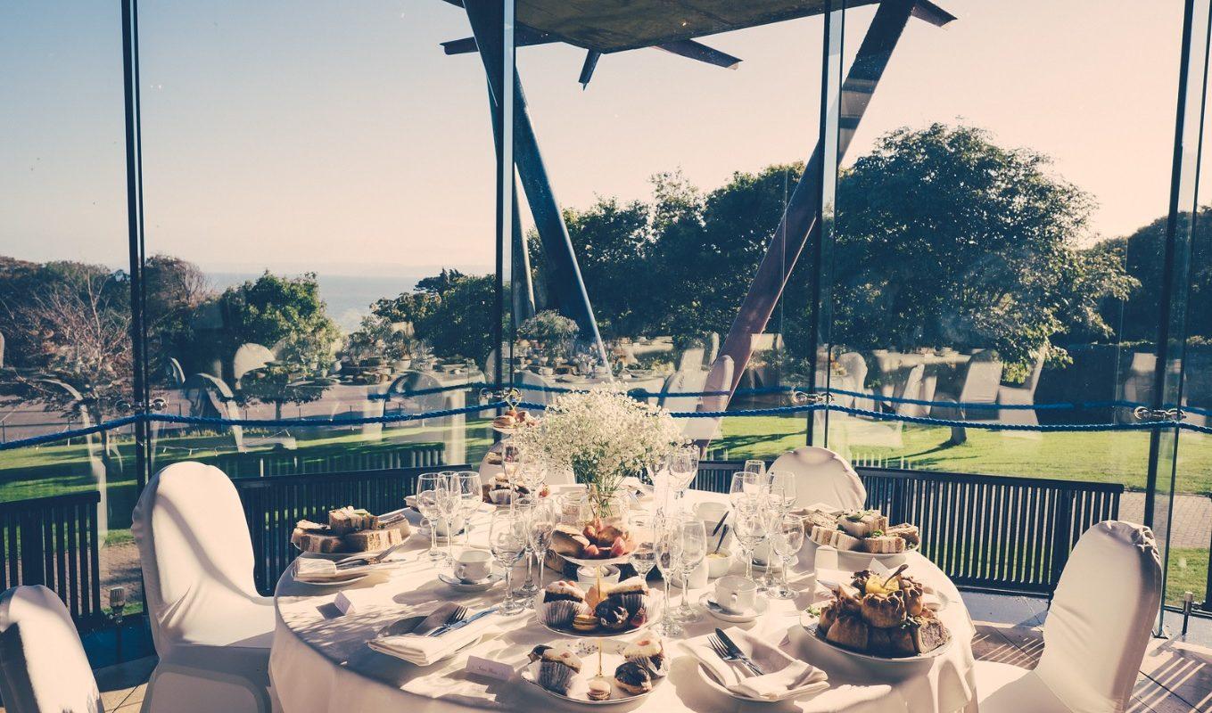 Afternoon tea at UWC Atlantic