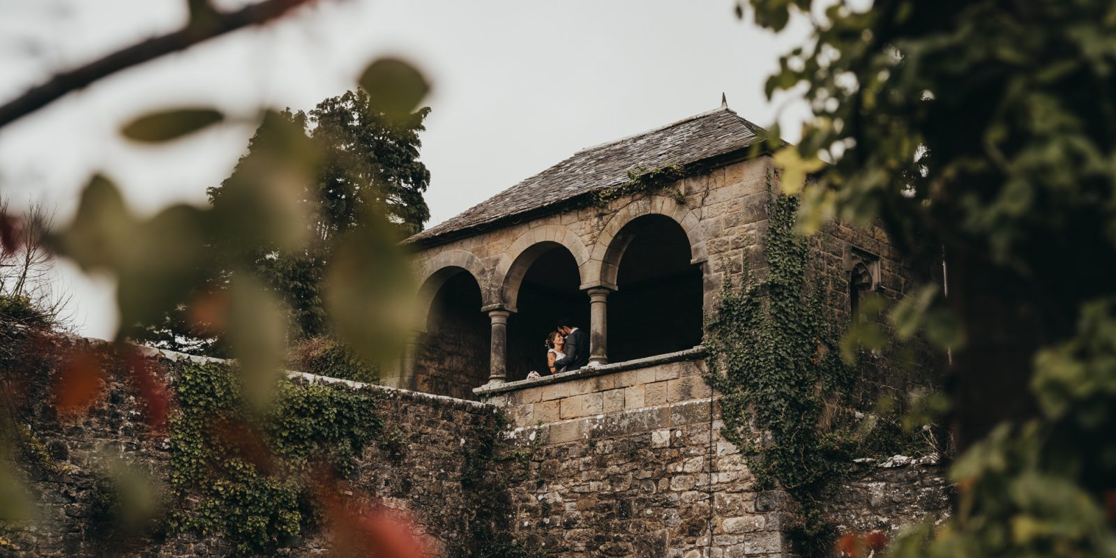 Romeo and juliet tower at st donats castle