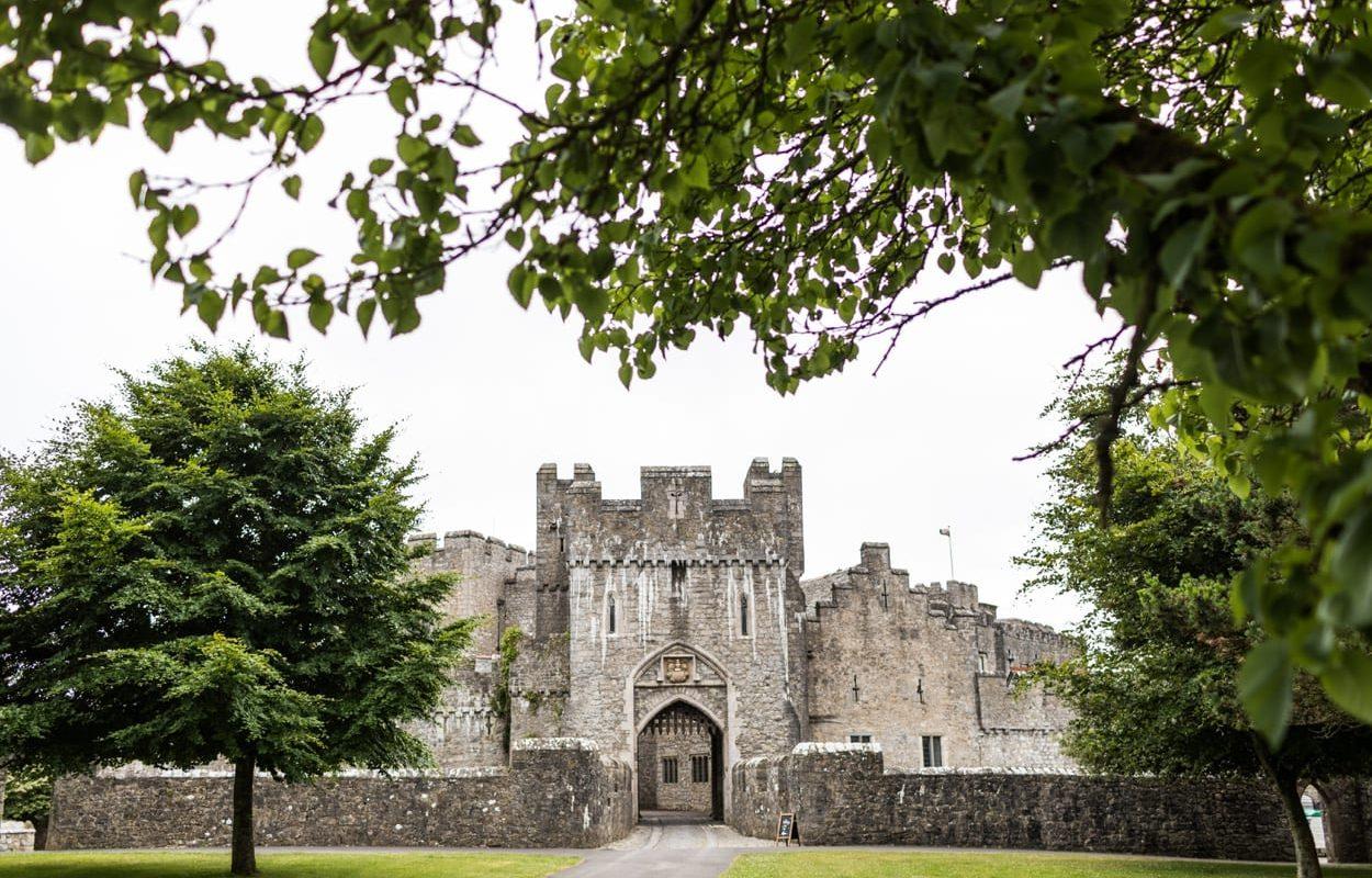 St Donats Castle portcullis