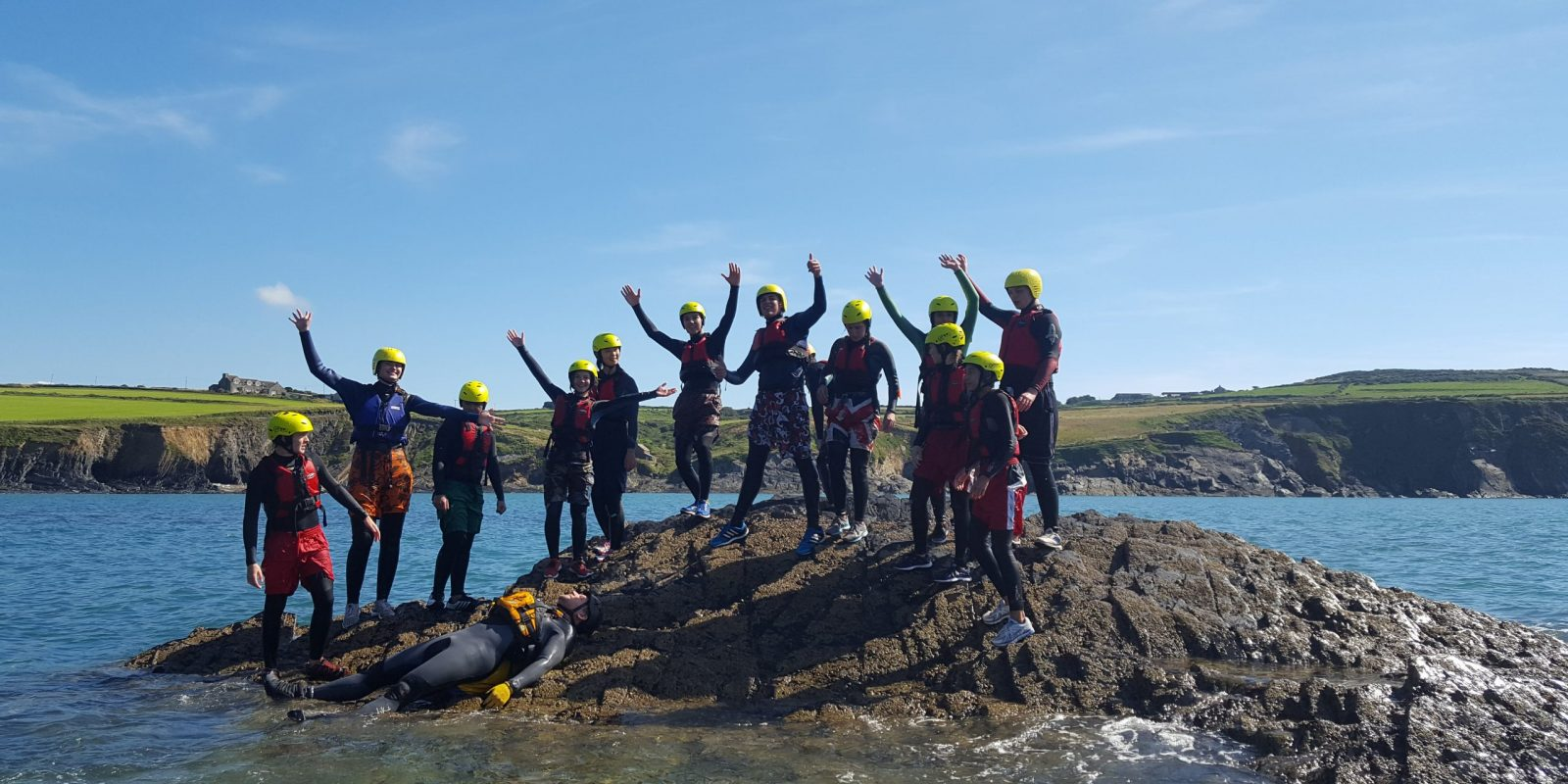 Outdoor adventure with UWC Atlantic