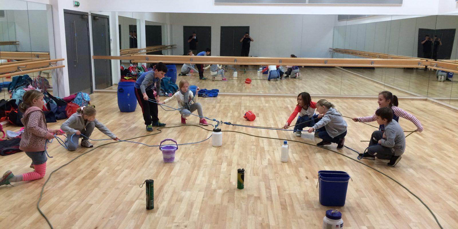 Indoor team building