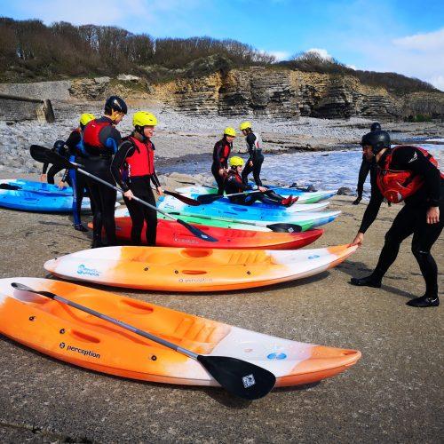 Kayaking with UWC Atlantic Experience