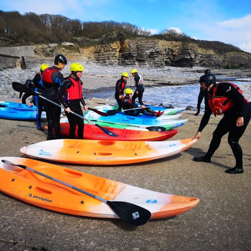 Kayaking at UWC Atlantic