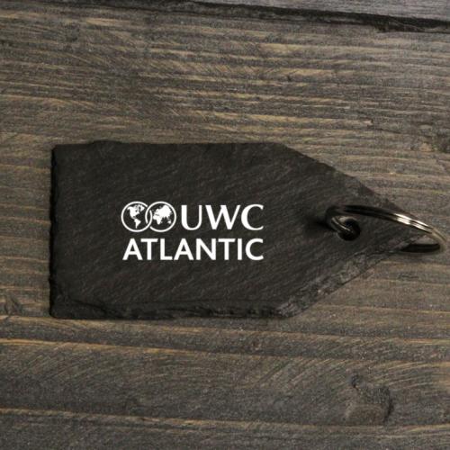 Welsh Slate UWC Atlantic Keyring