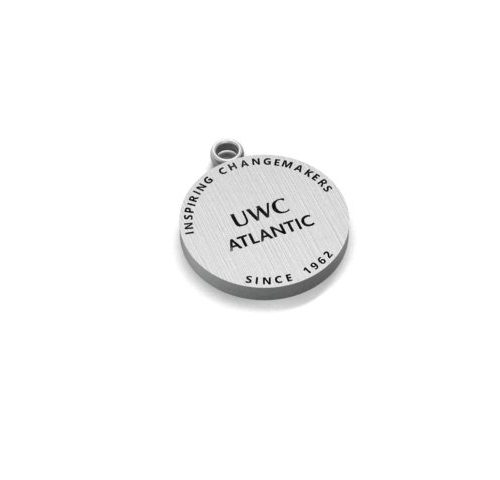 UWC Atlantic Silver Engraved Charm by OGTT