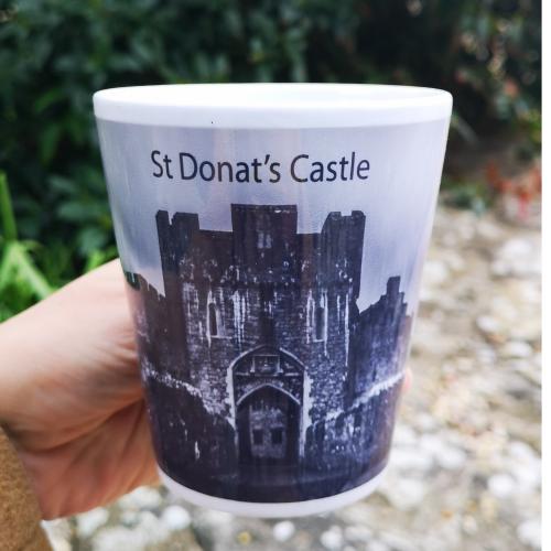 St Donat's Castle Mug