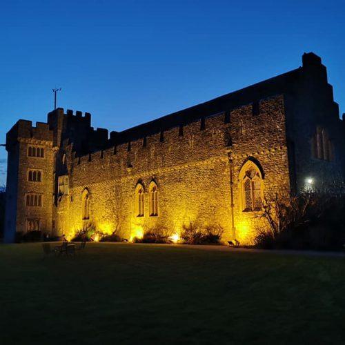 Halloween Spooktacular Film at St Donat's Castle | Scoob!