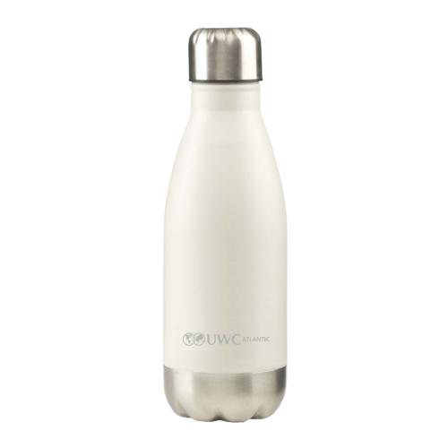 Metal Water Bottle 350ml – White