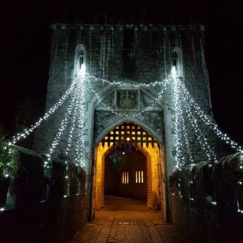 Christmas at St Donat's Castle